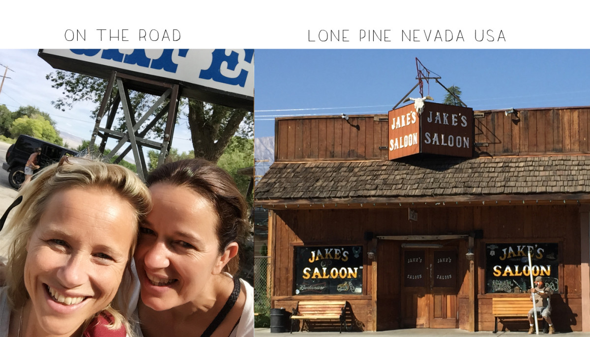3 on the road lone pine