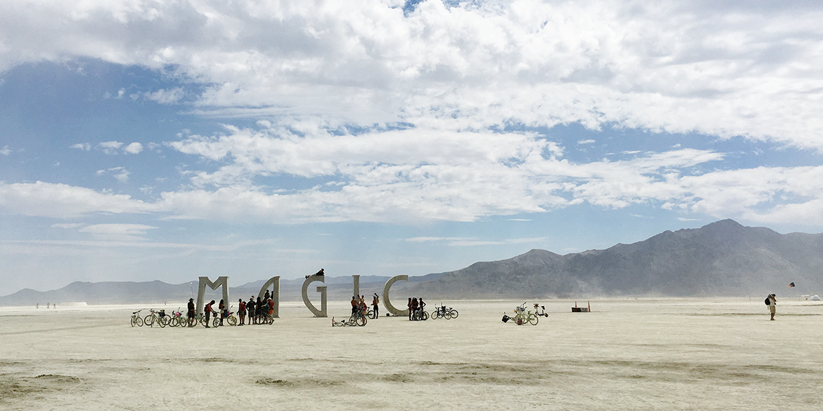 De magie van Burningman